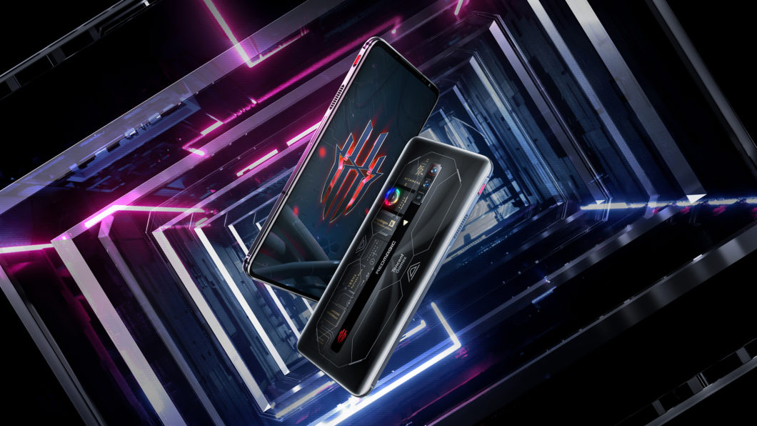 Red Magic 6S Pro has a 720 Hz touch sampling rate screen (Image: Press/Nubia)