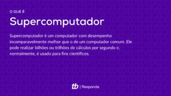 O que é um supercomputador? [Características e usos]