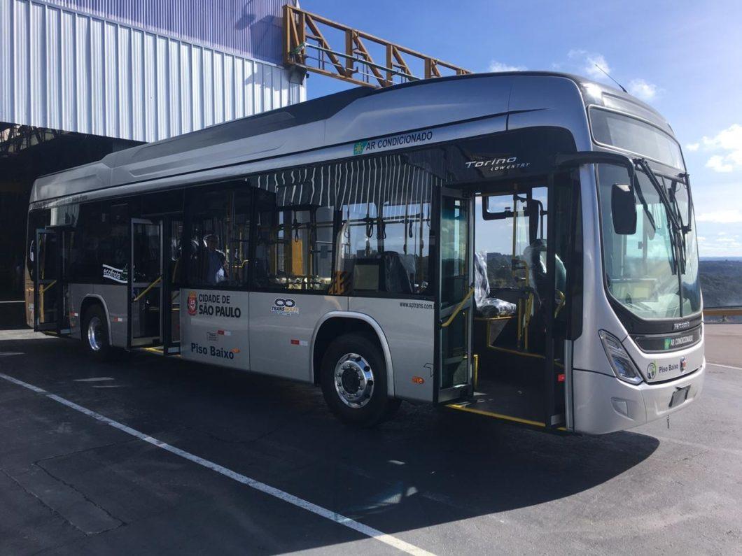 Os ônibus elétricos da Transwolff têm chassi BYD (imagem: divulgação/Transwolff)