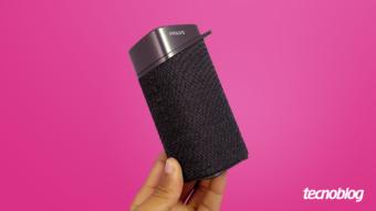Caixa de som Bluetooth Philips S3505: compacta com potência tímida