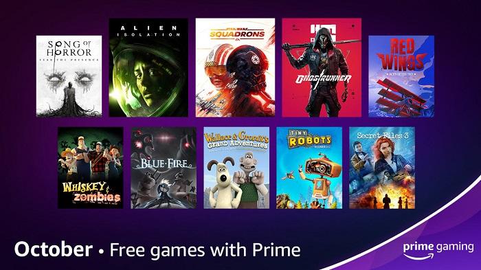 Prime Gaming em outubro tem STAR WARS: Squadrons e mais jogos grátis / Amazon / Divulgação