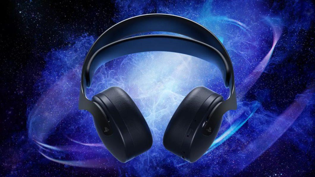 Headset Pulse 3D do PS5 vai ganhar modelo na cor preta em outubro