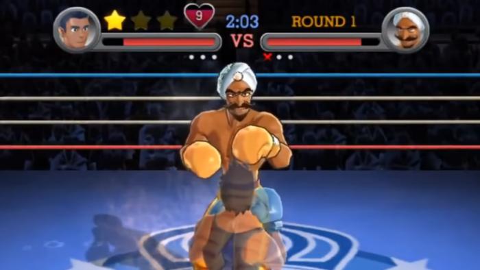 Punch-Out!! é um jogo de Nintendo Wii