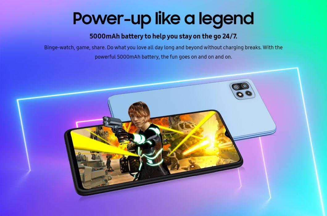 Samsung Galaxy F42 (Imagem: Divulgação/Samsung Índia)