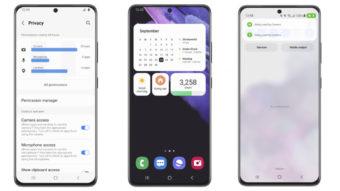 Android 12 da Samsung leva cores do Material You a celulares Galaxy