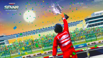 Jogo de corrida Horizon Chase terá expansão com Ayrton Senna