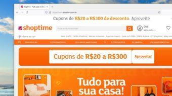 Clientes do Shoptime reclamam de invasão de contas e compras indevidas
