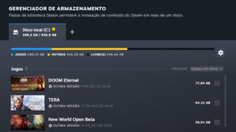 Steam ganha função de deletar e mover vários jogos de uma vez só