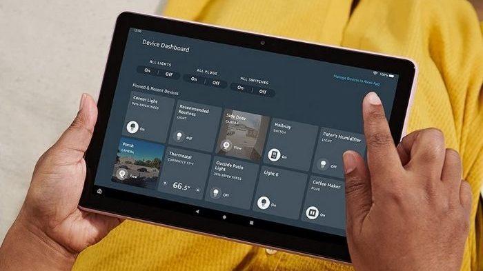 Tablet da Amazon (Imagem: Divulgação/Amazon)