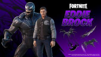 Venom em versão dos cinemas é lançado no Fortnite