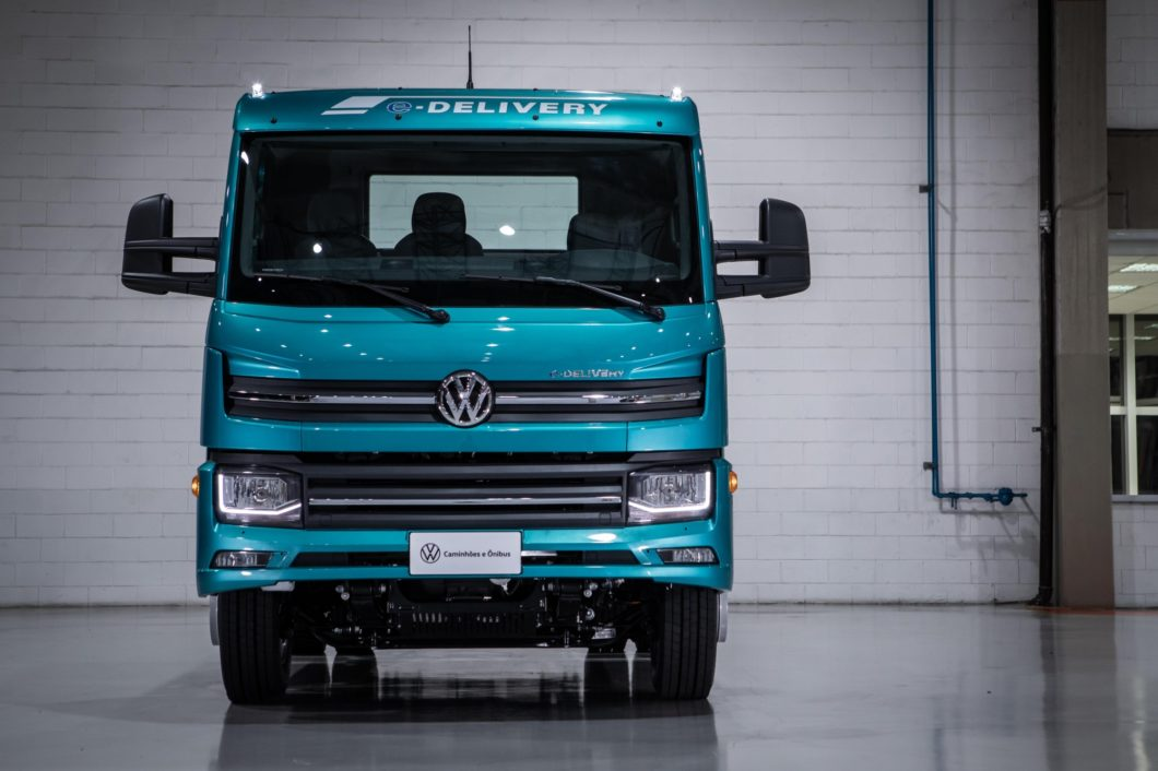 O e-Delivery custa a partir de R$ 780 mil (imagem: divulgação/Volkswagen)