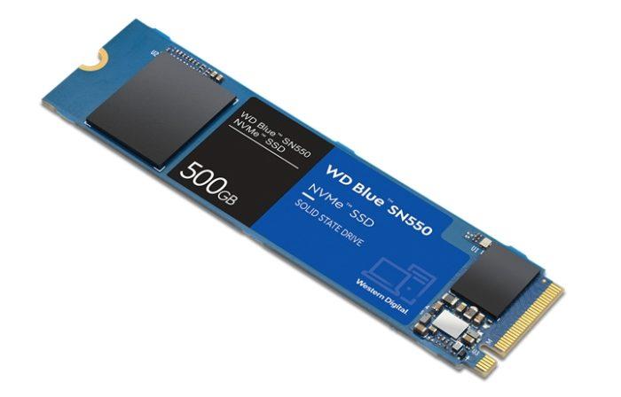 WD Blue SN550 (imagem: divulgação/Western Digital)