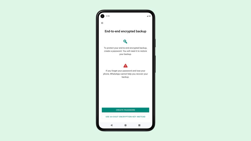 WhatsApp revela backups criptografados de ponta a ponta (Imagem: Divulgação)