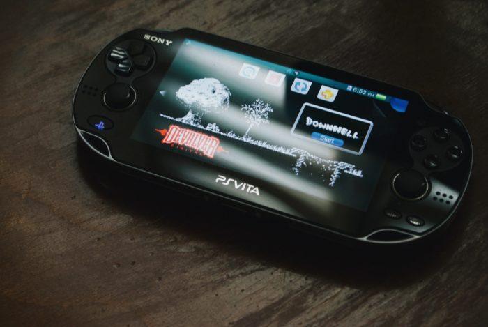 PS Vita tela inicial