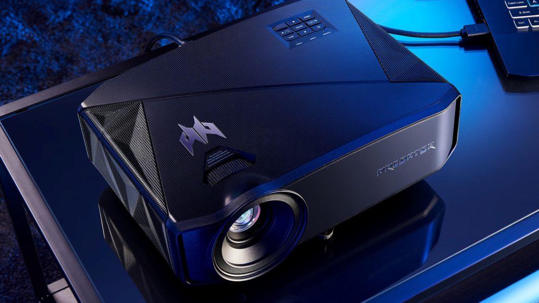Acer anuncia projetores gamer com resolução 4K, 240 Hz e preço salgado