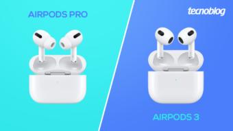 Comparativo: AirPods Pro ou AirPods 3; qual comprar?