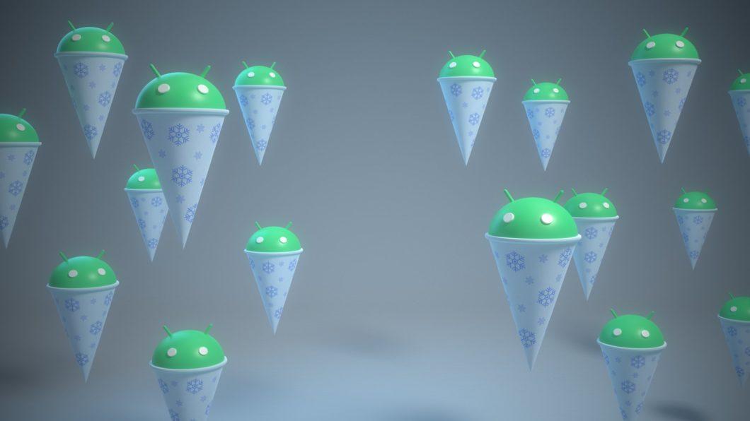 Android 12 Snow Cone (Imagem: Reprodução/Dave Burke/Twitter)