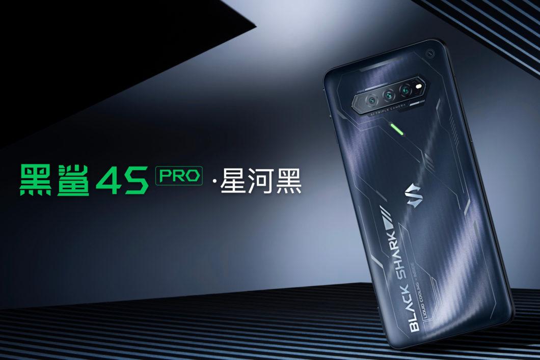 BlackShark4S Pro (Imagem: Reprodução/Xiaomi)