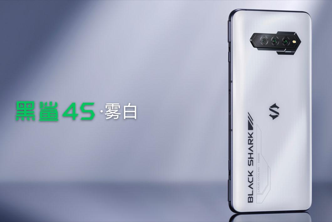 BlackShark4S (Imagem: Reprodução/Xiaomi)