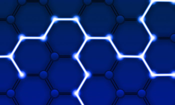 Representação do funcionamento de uma rede blockchain e seus nós (Imagem: Pete Linforth/ Pixabay)