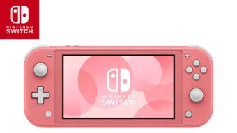 Nintendo Switch Lite chega oficialmente ao Brasil nesta sexta (1º)