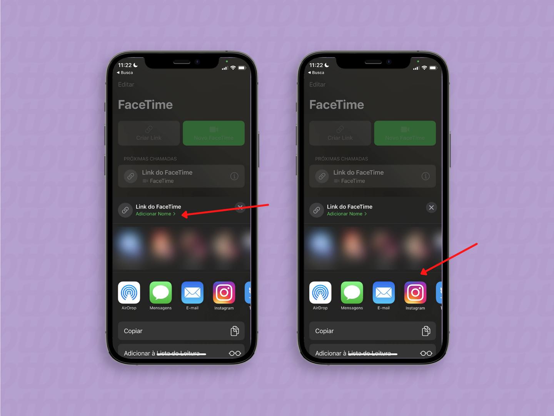 Como criar um link para uma chamada no FaceTime / Reprodução / Paula Alves