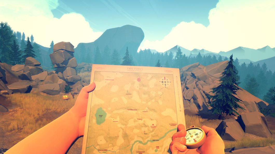 Firewatch é um belo game que fala sobre decisões de vida, fuga e solidão miniatura
