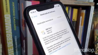 Apple lança iOS 15.0.1 para corrigir bug no armazenamento do iPhone