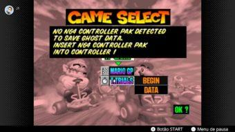 Jogos de Nintendo 64 do Switch Online estão com problemas técnicos