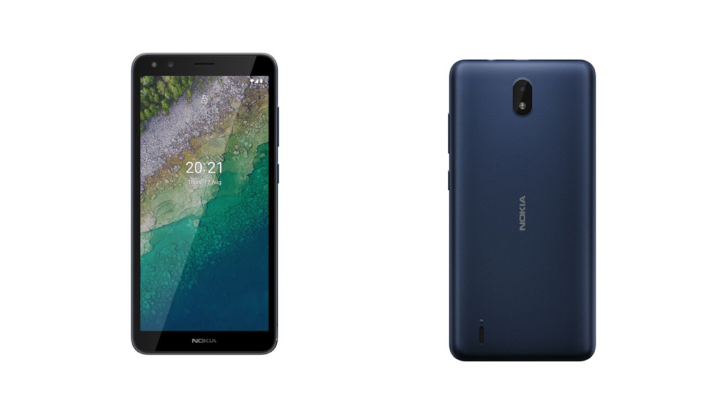 Nokia C01 Plus tem tela menor e menos memória RAM