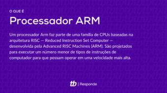 O que é um processador Arm?
