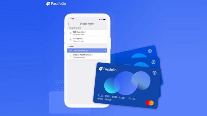 Cartão de débito do Passfolio (Imagem: Divulgação/ Passfolio)