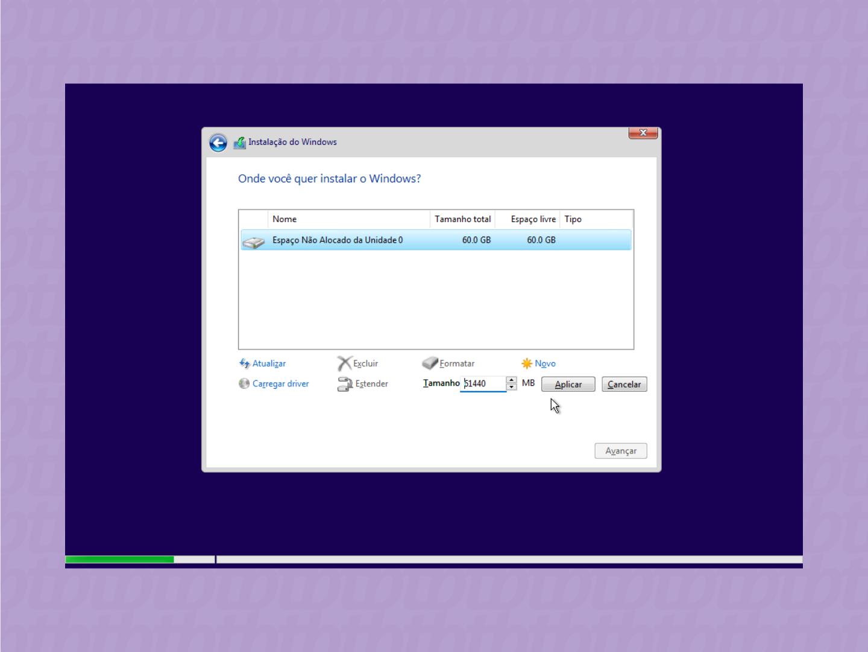 passos para instalacao limpa do windows 11