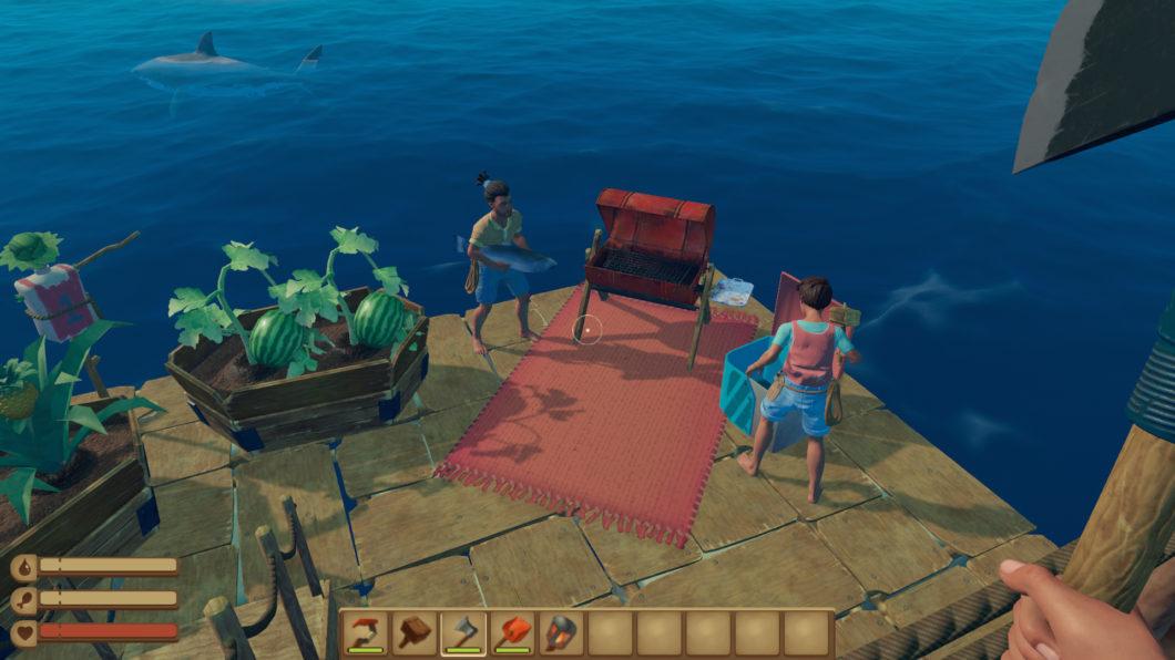 Raft (Imagem: Divulgação/Axolot Games)