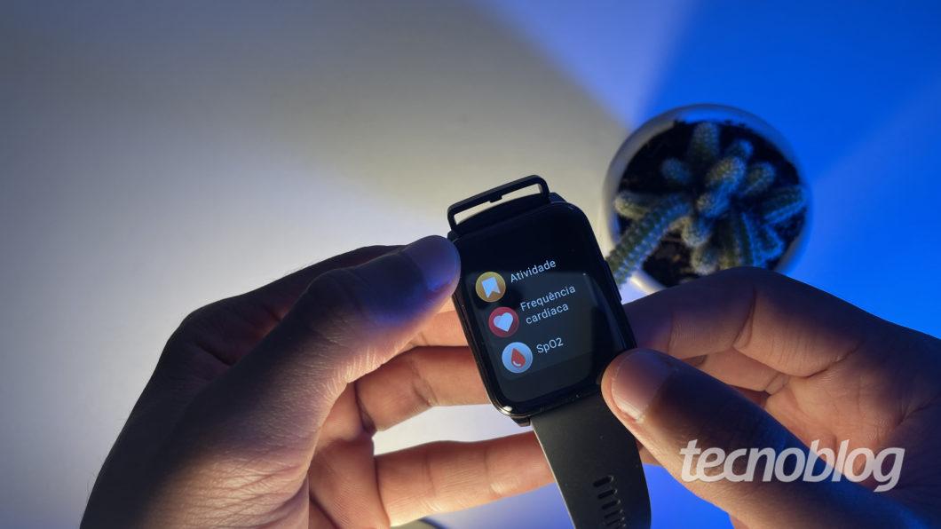 Realme Watch 2 (Image: Darlan Helder/Tecnoblog)