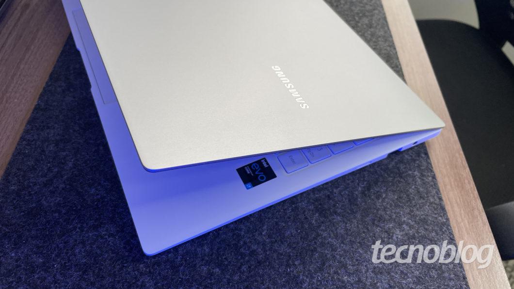 Samsung Galaxy Book Pro (Imagem: Darlan Helder/Tecnoblog)