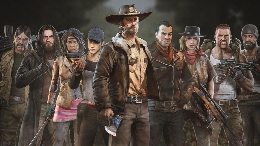 todos os jogos de The Walking Dead