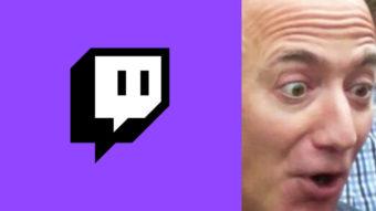 Twitch tem site invadido e vandalizado com memes de Jeff Bezos