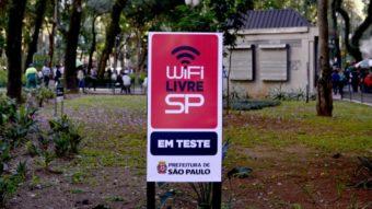 São Paulo quer criar 4 mil pontos de Wi-Fi grátis com novo edital